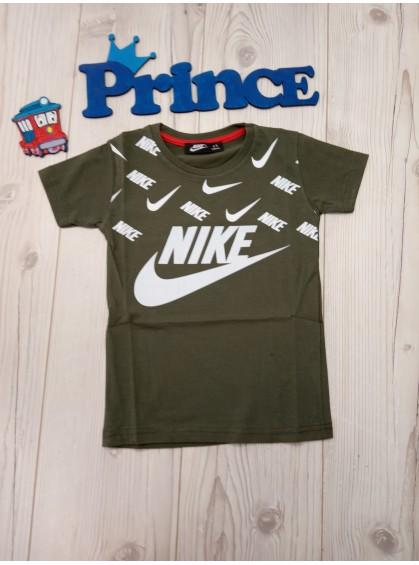 Футболка Nike для мальчика цвета хаки