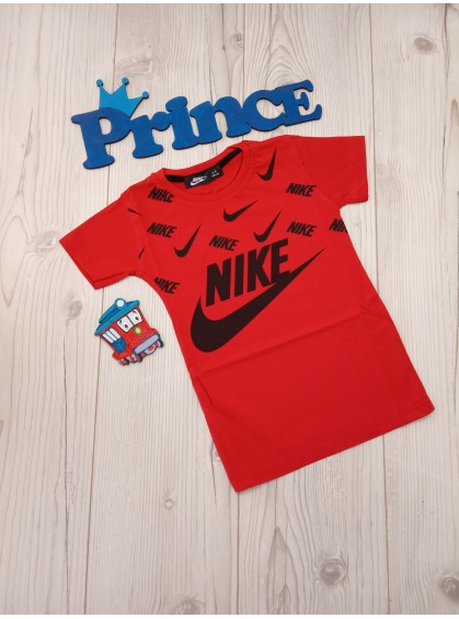 Футболка Nike для мальчика красного цвета