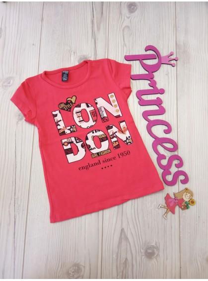 Модная футболка для девочки с принтом Лондон
