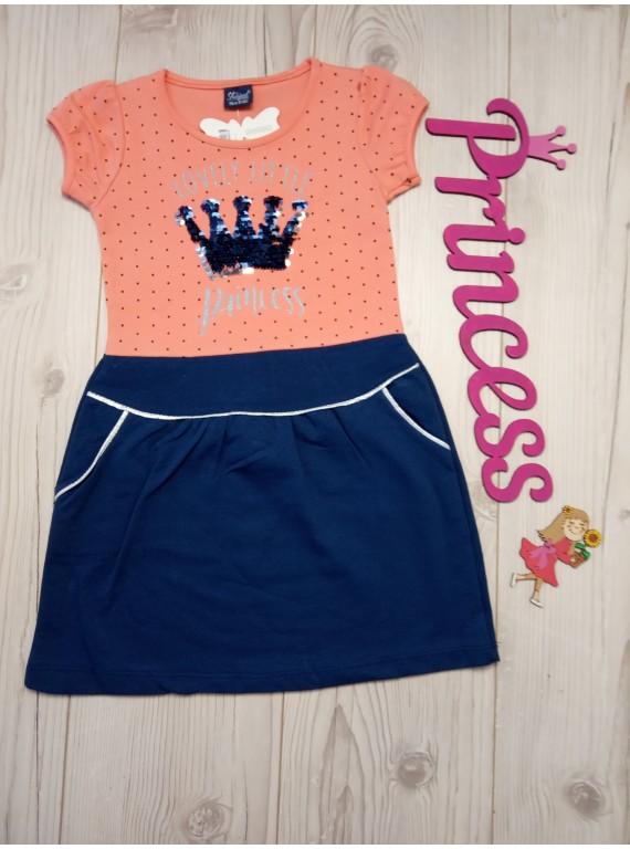 Детское красивое платье для девочки с пайетками