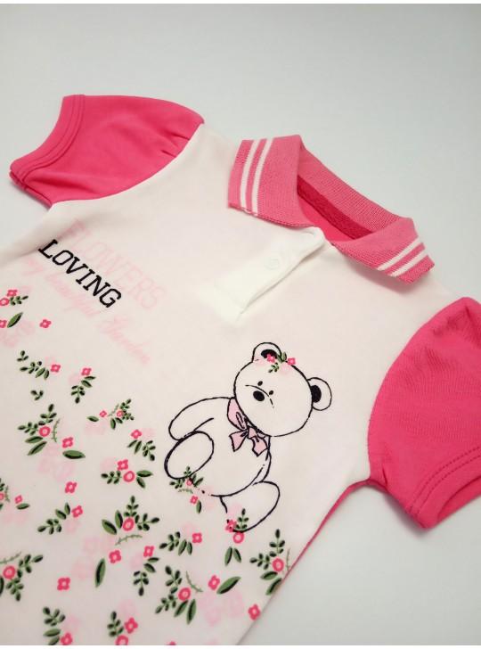 Бодик-поло для новорожденных