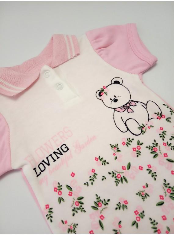 Боди-поло для новорожденных