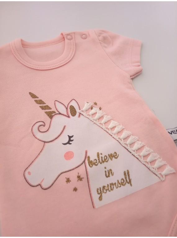 Бодик для новорожденных Единорог