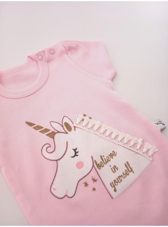 Боди для новорожденных Единорог