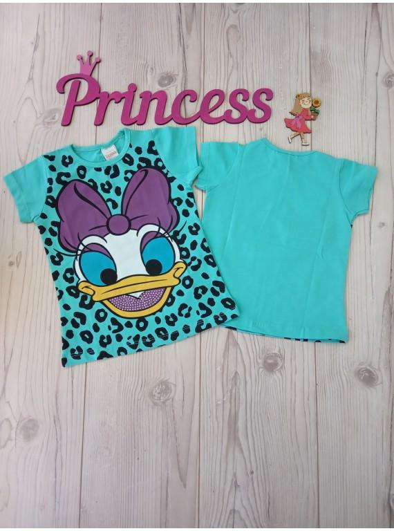 Детская футболка с принтом для девочки Benna Kids