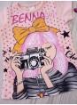 Детская футболка с принтом Benna Kids