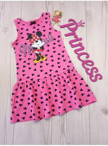Детское платье для девочки с красивым принтом