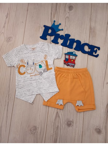 Комплект для новорожденных боди с шортами