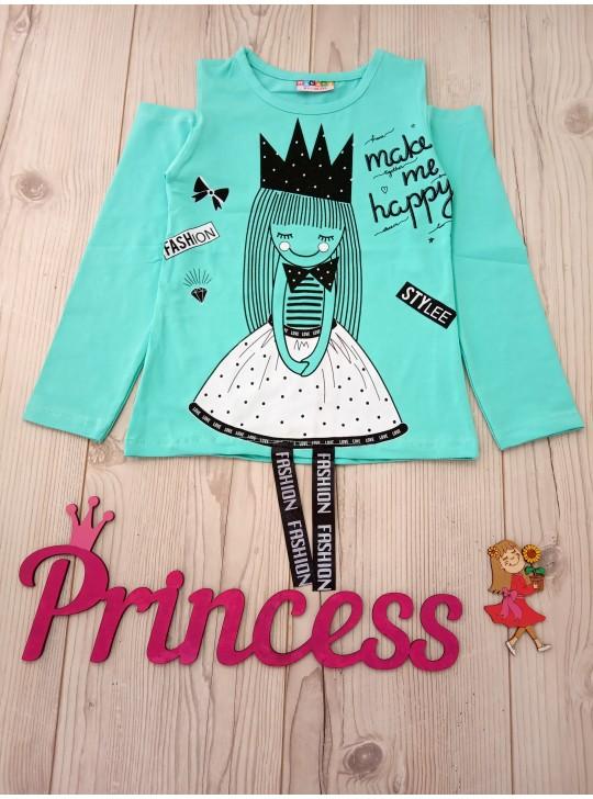 Детский реглан для девочки fashion