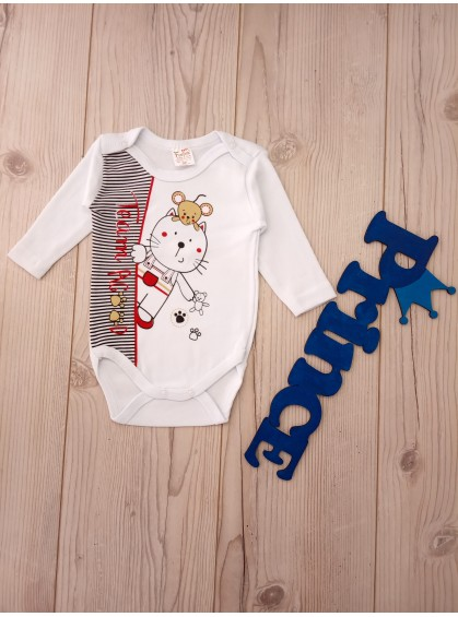 Боди с длинными рукавами для новорожденных деток